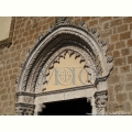 Chiesa di Sant'Agostino - Lunetta portale