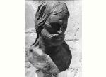 Musei Vaticani - Emilio Greco, Testa di Cristo, bronzo, 1968