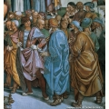 Predicazione dell'Anticristo - particolare