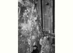 1964 - Giovanni Fallani con Emilio Greco tra le guglie del duomo di Orvieto