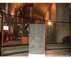 bozzetto di studio in bronzo delle porte del Duomo che fu realizzato dal padre Emilio Greco nel 1962