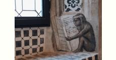 La scimmietta della Libreria alberi