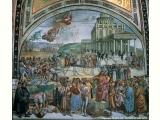 Cappella di San Brizio - sermone e atti dell'anticristo