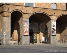 Palazzo Soliano - Entrata Museo Emilio Greco