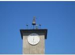 Il Maurizio sulla sommità della torre