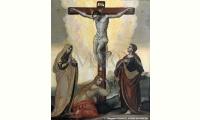 Cristo crocifisso tra i dolenti