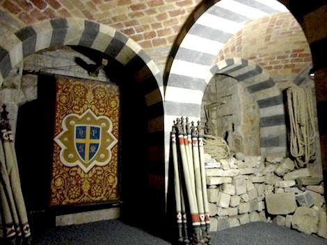 I sotterranei della cattedrale di Orvieto